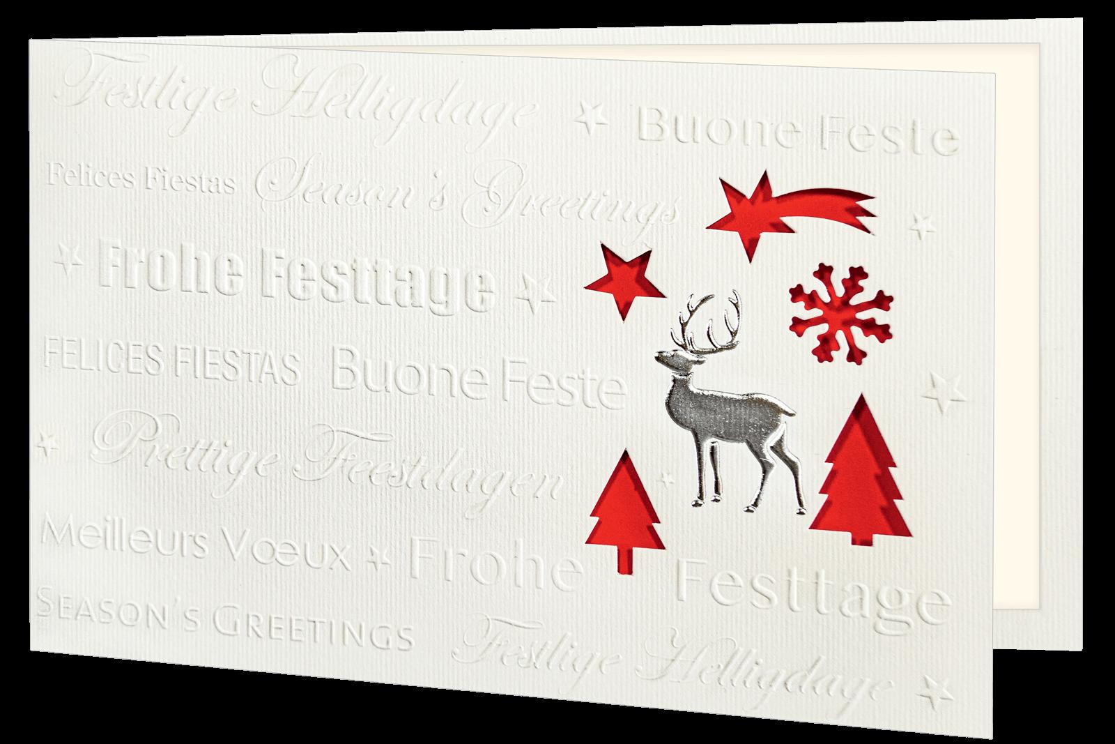 Weihnachtskarte 1303