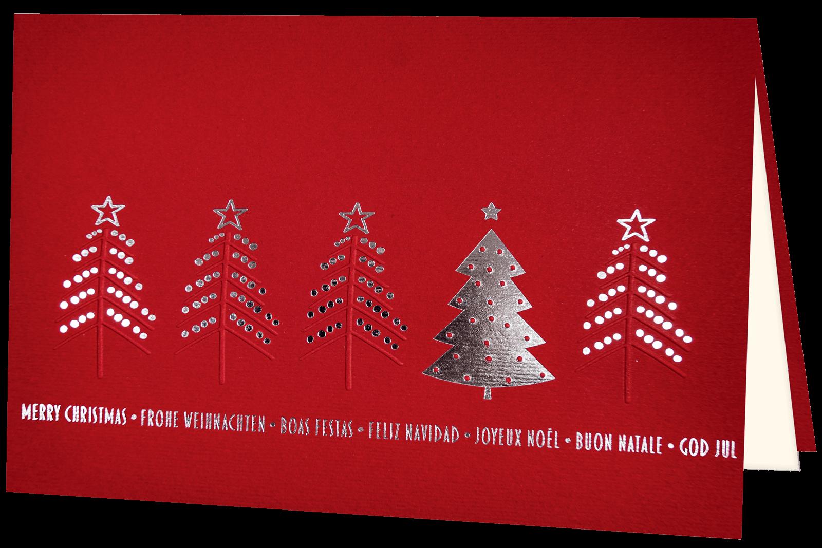 Weihnachtskarte 1304