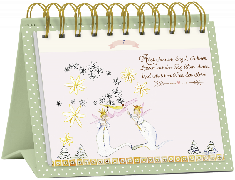 """Tisch-Adventskalender """"24 Glücksmomente zur Weihnachtszeit"""", Art. 15567"""
