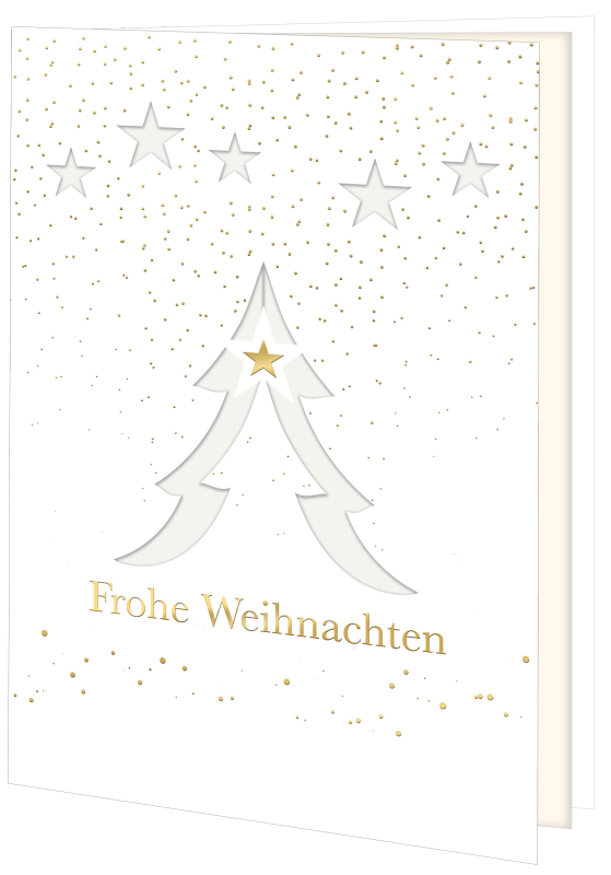 Weihnachtskarte 1307