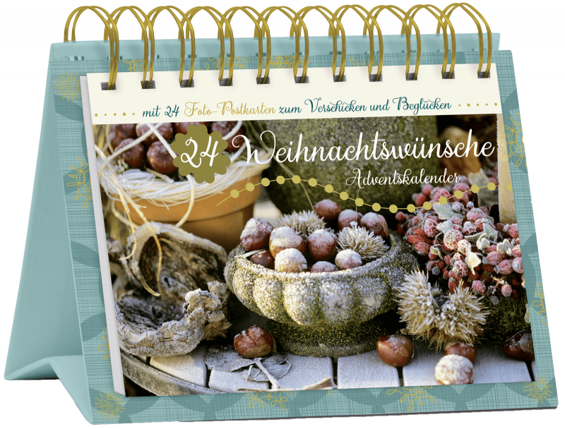 """Tisch-Adventskalender """"24 Weihnachtswünsche"""", Art. 15569"""