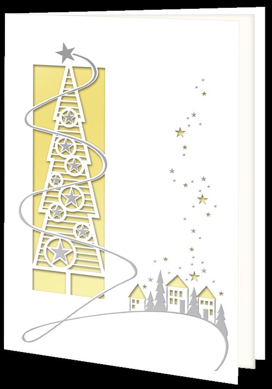 Weihnachtskarte 8327