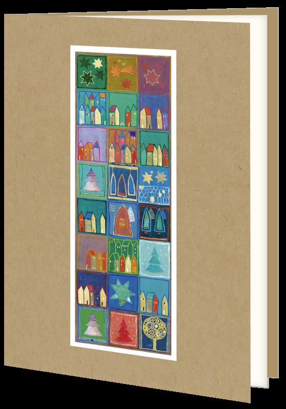 Weihnachtskarte 9328