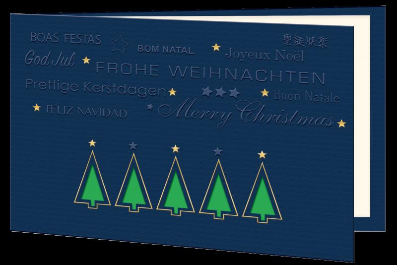 Weihnachtskarte 1332