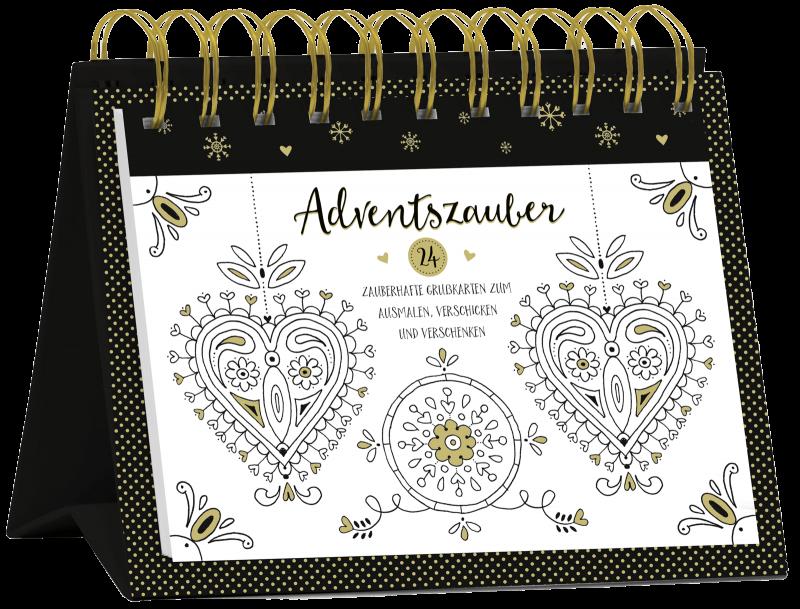 """Tisch-Adventskalender """"Adventszauber"""", Art. 15570"""
