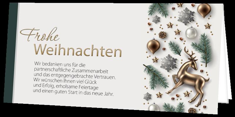 Weihnachtskarte 9348